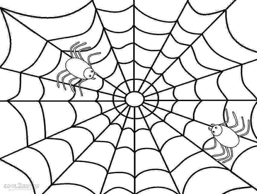 spider web coloring page printable spider web coloring pages for kids cool2bkids spider page coloring web