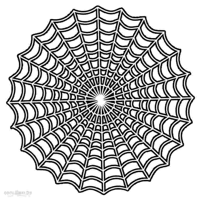 spider web coloring page printable spider web coloring pages for kids cool2bkids web coloring spider page