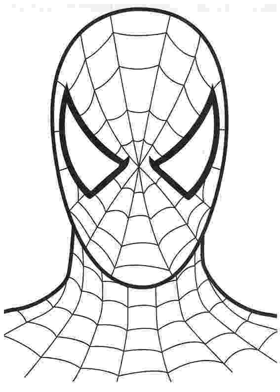 spiderman color sheet spiderman cartoon drawing at getdrawingscom free for color spiderman sheet