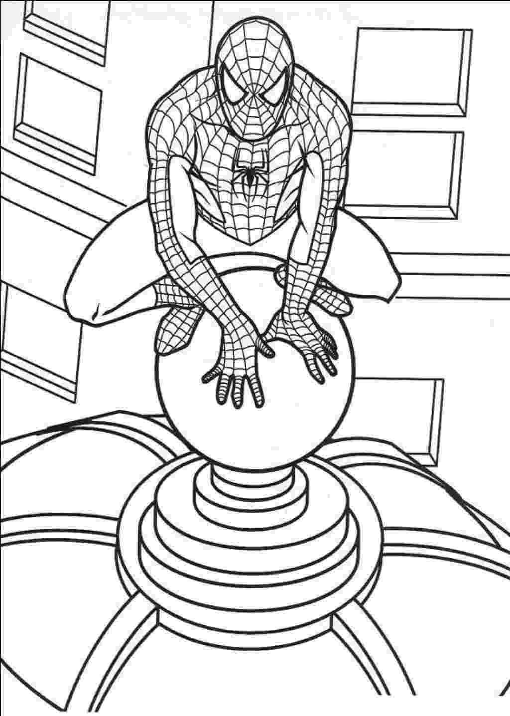 spiderman printout the amazing spider man coloring pages spiderman color printout spiderman 1 1