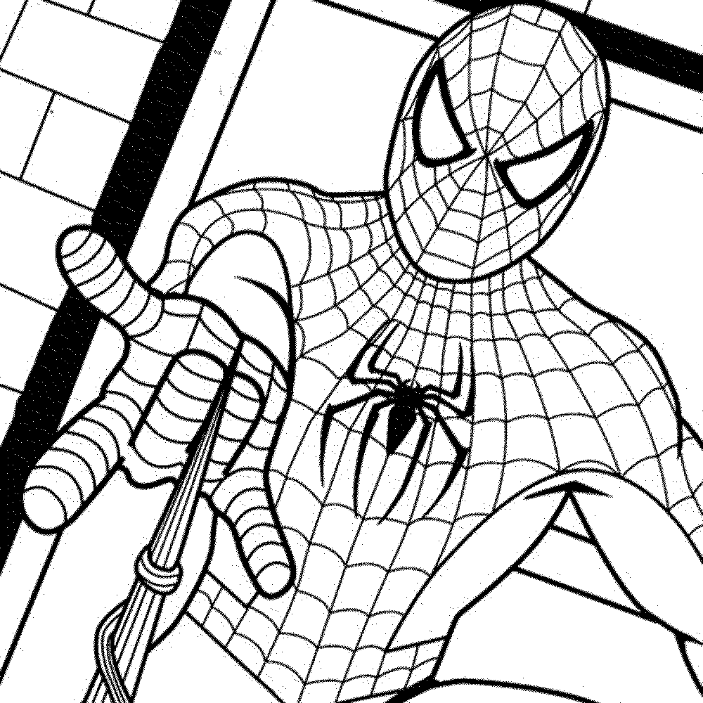 spiderman to color coloring pages spiderman free printable coloring pages to color spiderman