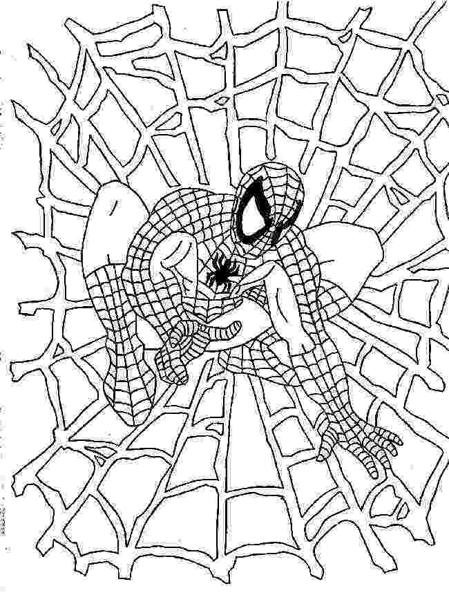 spiderman to color spider man coloring page spiderman coloring superhero spiderman to color
