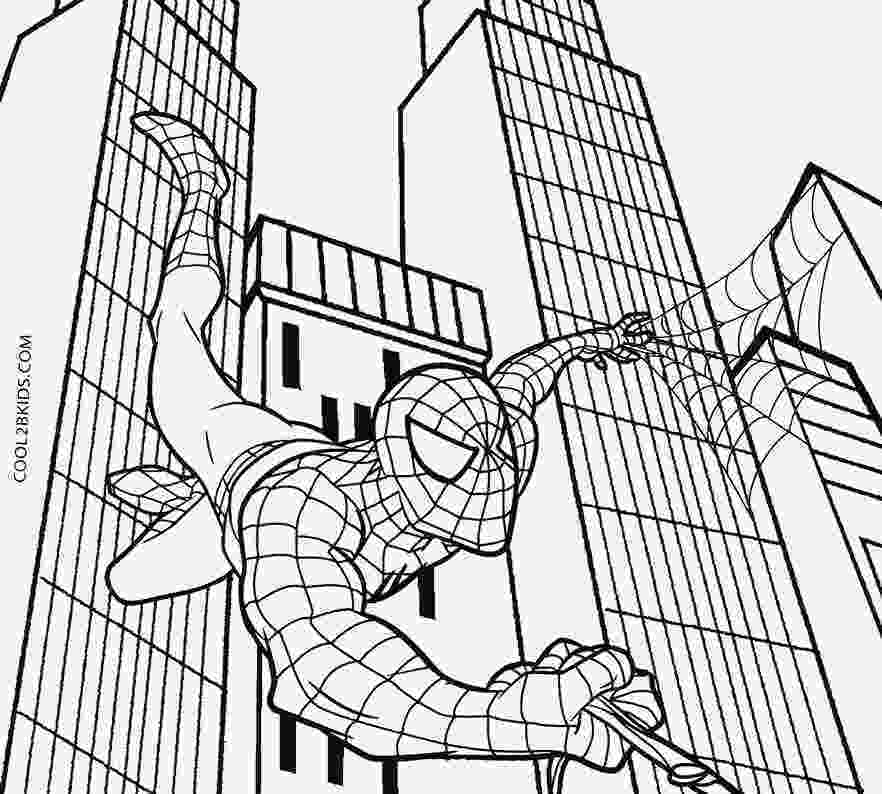 spiderman to color ultimate spiderman coloring pages 04 omalovánky to color spiderman