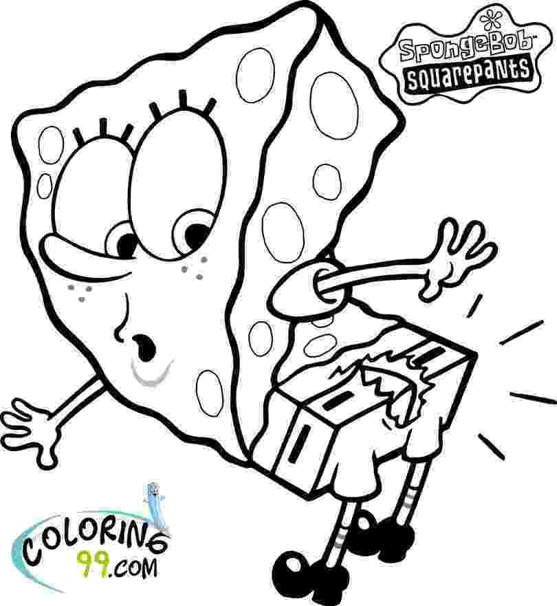 sponge bob coloring page coloring pages from spongebob squarepants animated coloring bob page sponge