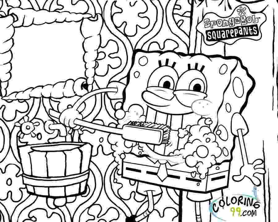 sponge bob coloring page free printable spongebob squarepants coloring pages for kids page coloring sponge bob