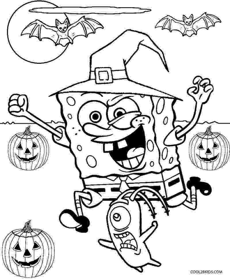 spongebob coloring book download printable spongebob coloring pages for kids cool2bkids spongebob download coloring book