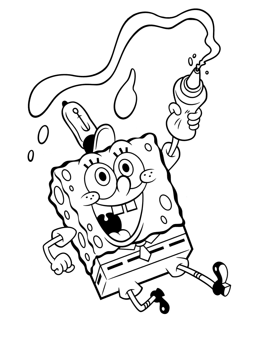 spongebob coloring book download spongebob coloring pages free download on clipartmag book spongebob coloring download