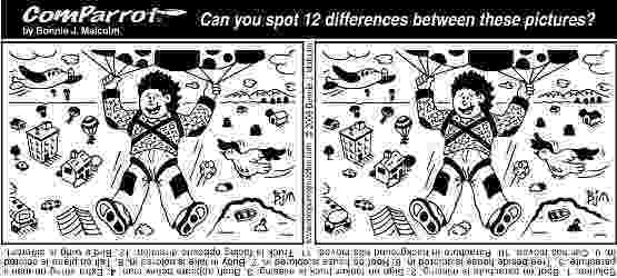 spot the difference printable puzzles 16 best images of spot the difference worksheets for kids the spot puzzles difference printable