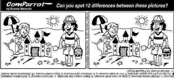 spot the difference printable puzzles brain teasers get 12 free 39spot the difference39 puzzles the printable spot puzzles difference