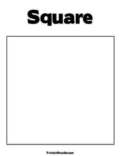 square coloring pages square coloring page from twistynoodlecom shape coloring square pages