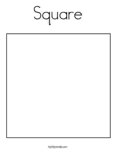 square coloring pages square coloring page twisty noodle coloring pages square