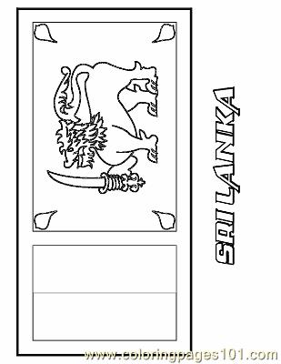 sri lanka flag coloring page coloring page flag sri lanka img 6309 flag coloring sri lanka page