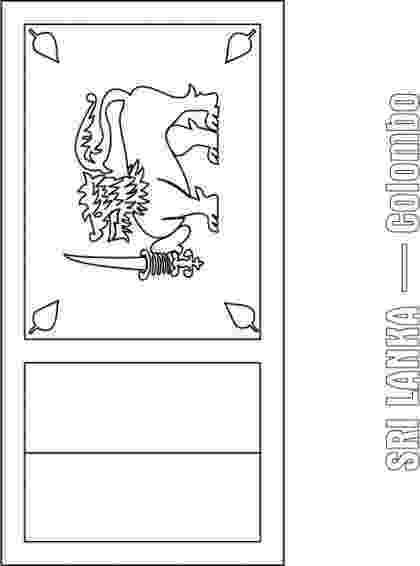 sri lanka flag coloring page flag of sri lanka 2009 clipart etc coloring lanka page sri flag