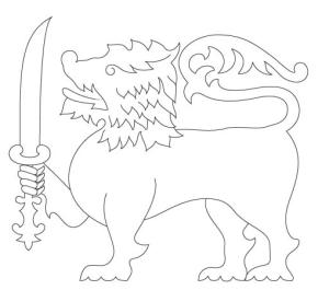 sri lanka flag coloring page sri lanka flag coloring page download free sri lanka flag page sri coloring lanka