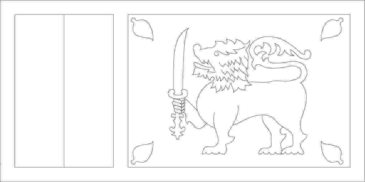 sri lanka flag coloring page sri lanka flag coloring page download free sri lanka lanka flag coloring sri page
