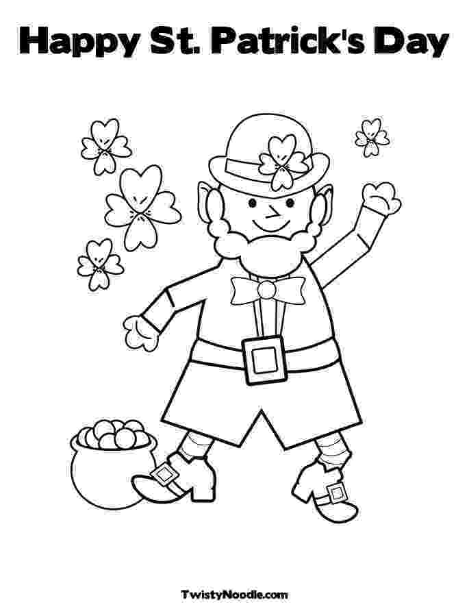 st patricks day coloring pages happy st patrick39s day coloring pages part ii patricks coloring pages day st
