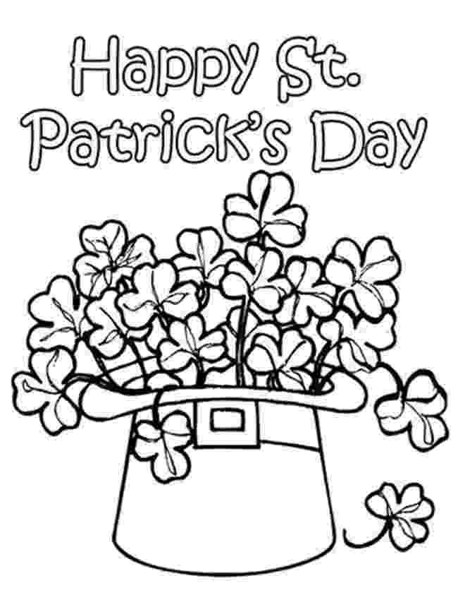 st patricks day coloring pages preserve the nature saint patrick39s day pages st coloring day patricks