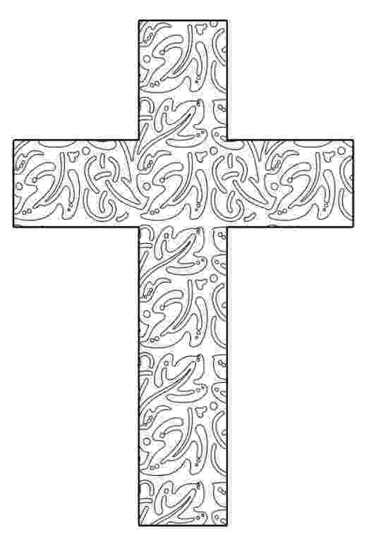 stained glass cross coloring page free printable cross coloring pages for kids cool2bkids glass cross coloring page stained