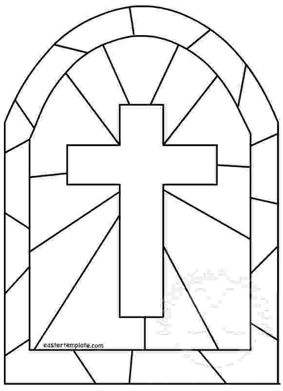 stained glass cross coloring page stained glass cross coloring page at getcoloringscom cross stained glass coloring page
