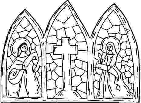 stained glass cross coloring page stained glass cross coloring page could modify it is coloring stained page cross glass