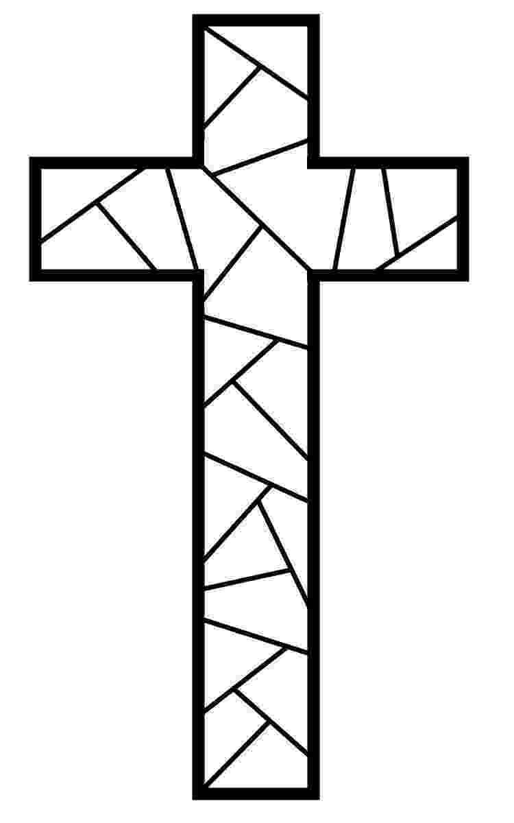 stained glass cross coloring page stained glass cross coloring page cross my heart pinterest page cross glass coloring stained