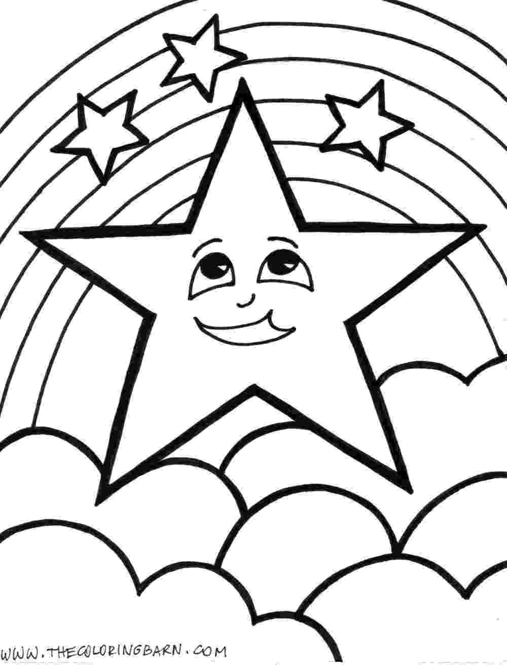 star coloring pages for preschoolers star coloring pages 360coloringpages preschoolers for pages star coloring