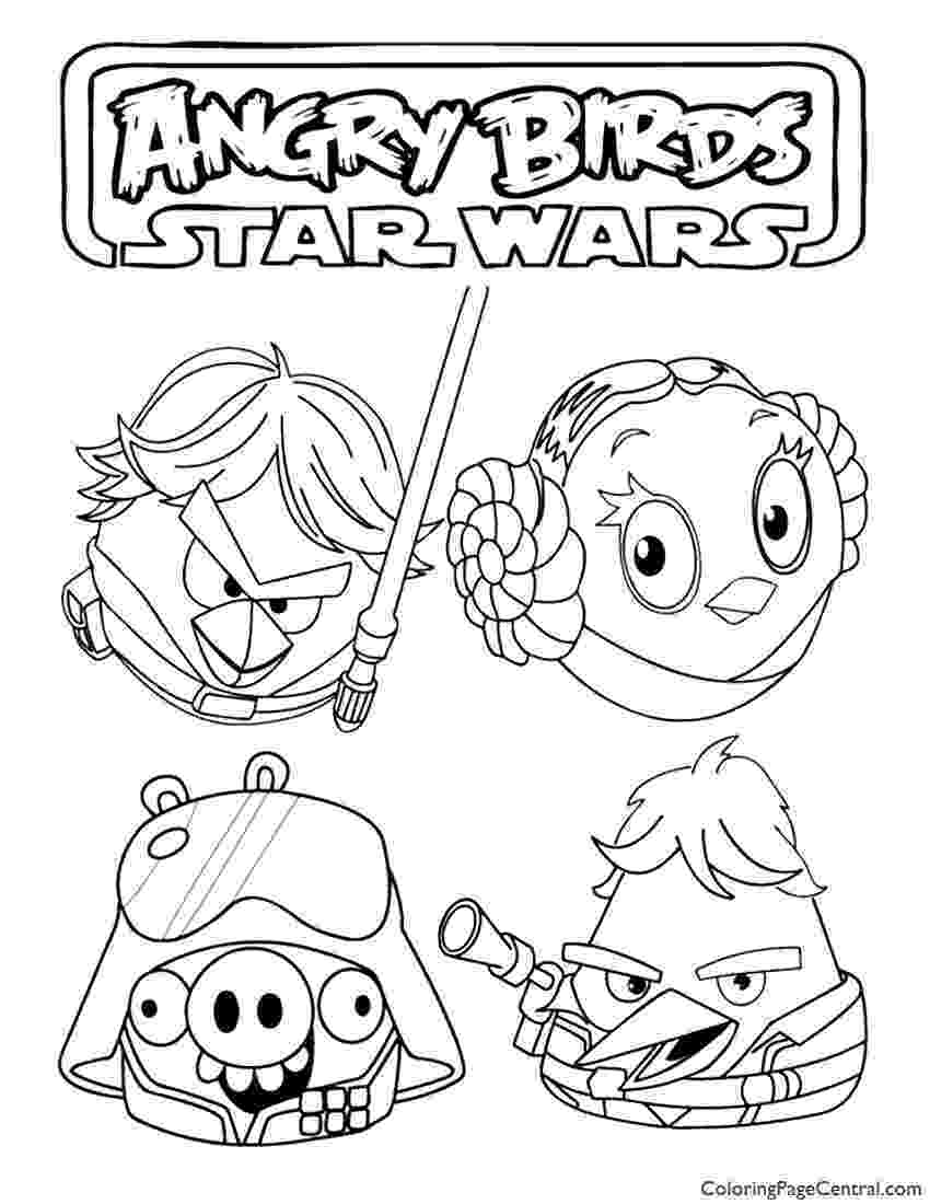 star wars angry birds coloring pages angry birds star wars coloring pages kid39s stuff star birds pages wars angry coloring