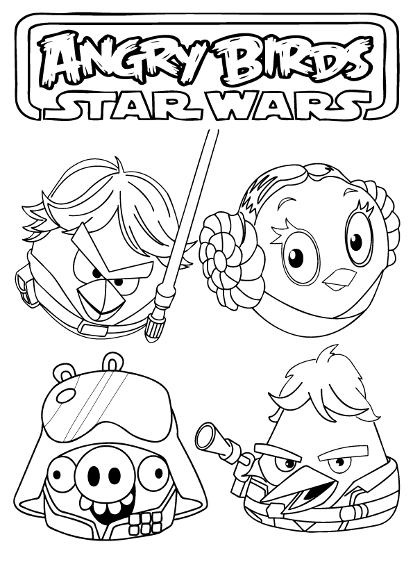 star wars angry birds coloring pages angry birds star wars coloring pages printable coloring wars pages angry star birds