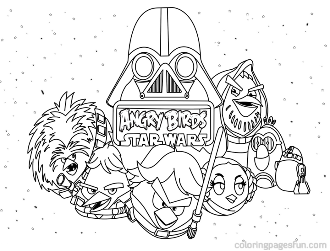 star wars angry birds coloring pages angry birds star wars coloring pages to print wars pages coloring star birds angry