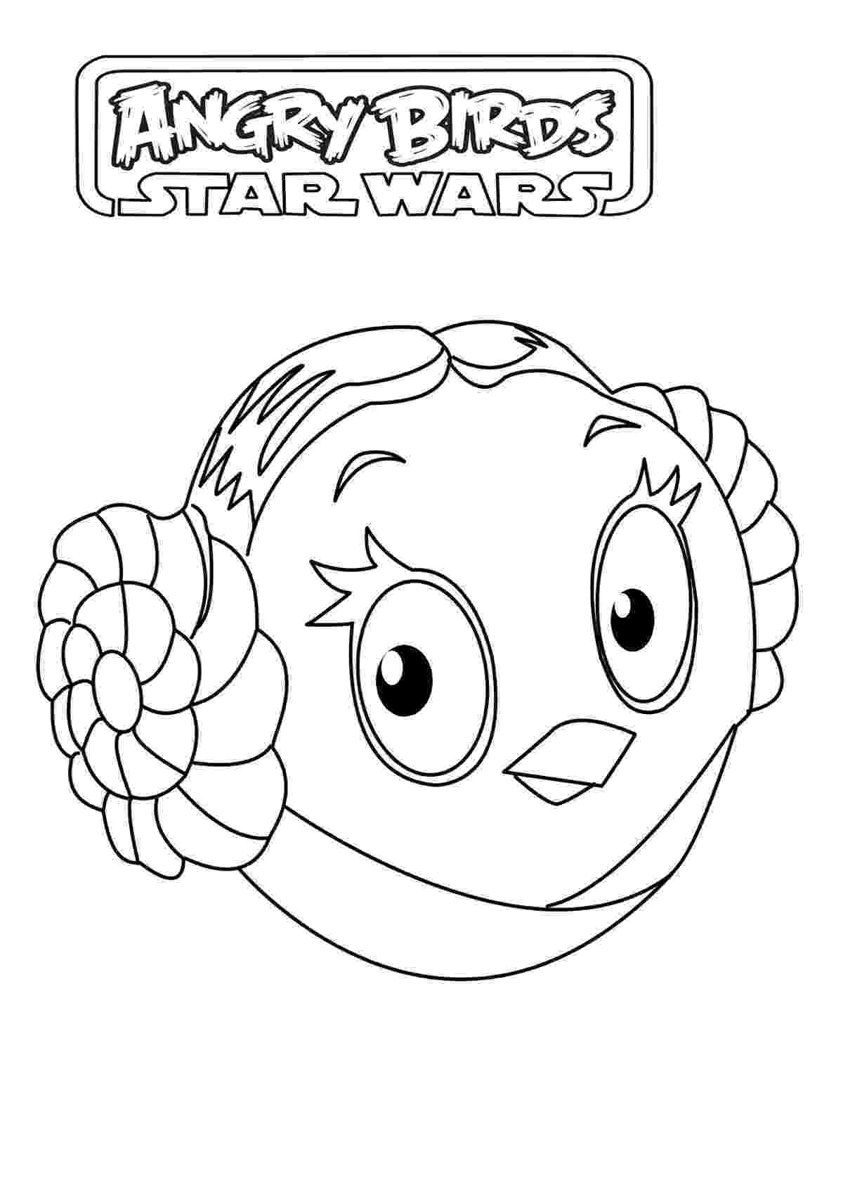 star wars angry birds coloring pages angry birds star wars free to color for children angry pages birds star angry wars coloring
