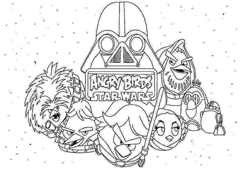star wars angry birds coloring pages angry birds star wars to download for free angry birds birds wars coloring angry star pages