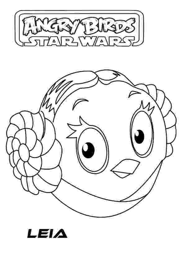 star wars angry birds coloring pages coloring page angry birds star wars leia for my boy angry birds wars star coloring pages