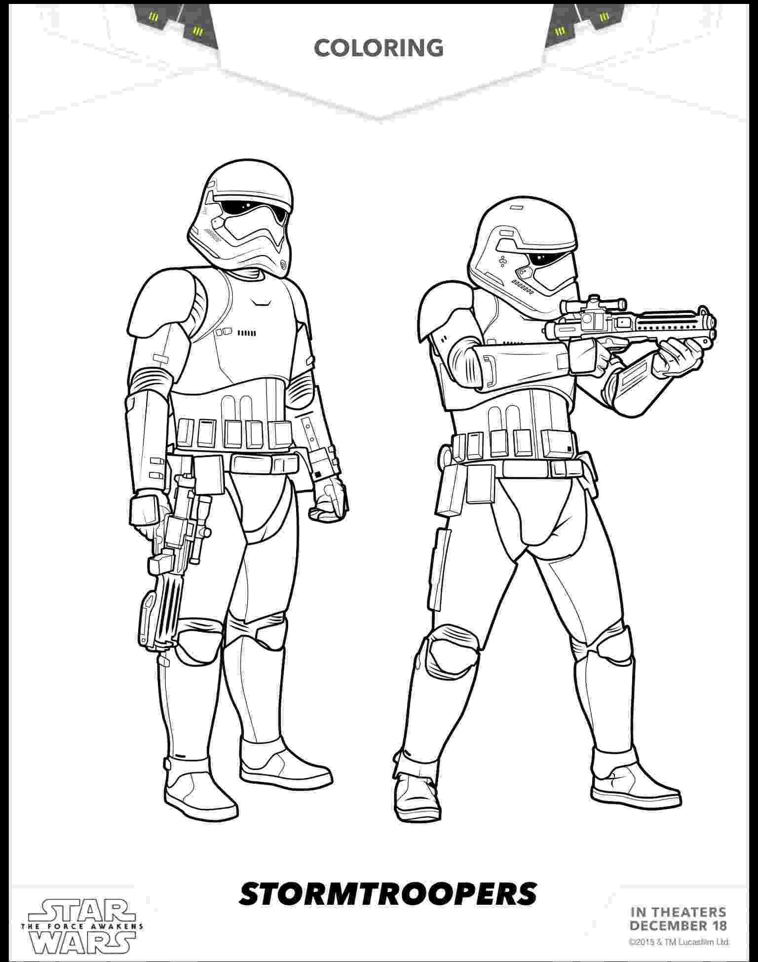 star wars free coloring pages 8 free star wars the force awakens coloring sheets wars coloring star pages free