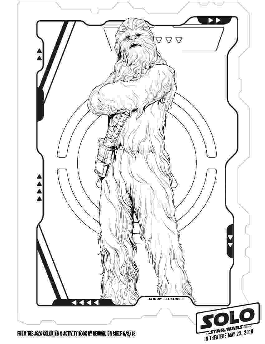 star wars free coloring pages solo a star wars story coloring pages and activity sheets wars star pages coloring free