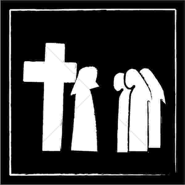 stations of the cross clip art a short stations of the cross st leo the great clip the of stations art cross