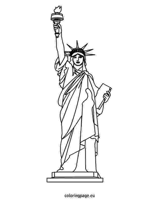 statue of liberty coloring page 4 july statue of liberty coloring page download print of coloring liberty statue page