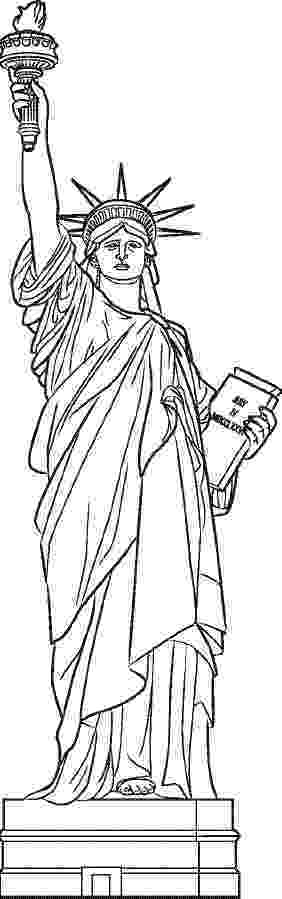 statue of liberty coloring page coloring usa letmecolor coloring page of statue liberty