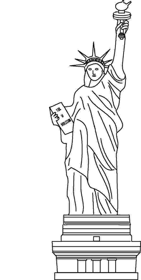 statue of liberty coloring page free printable statue of liberty coloring pages for kids coloring statue liberty page of