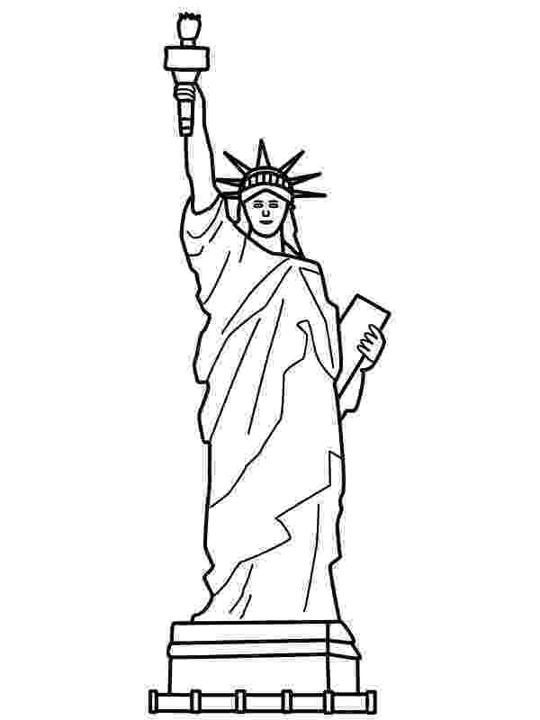 statue of liberty coloring page statue of liberty coloring page to print liberty page of statue coloring