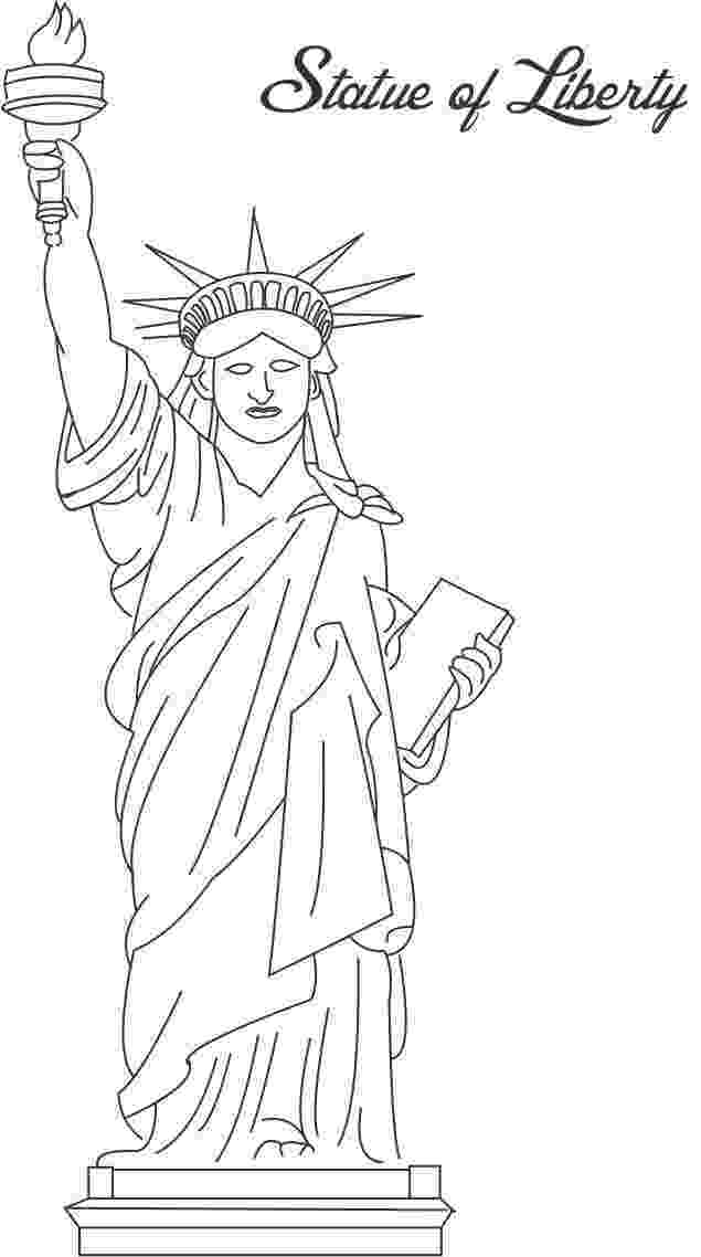statue of liberty coloring page statue of liberty coloring pages free printable pictures of liberty coloring statue page