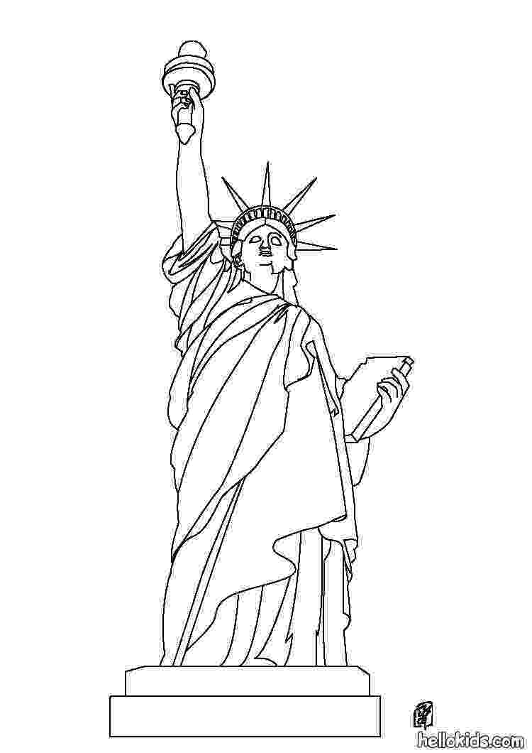 statue of liberty coloring page statue of liberty coloring pages free printable pictures page liberty coloring statue of