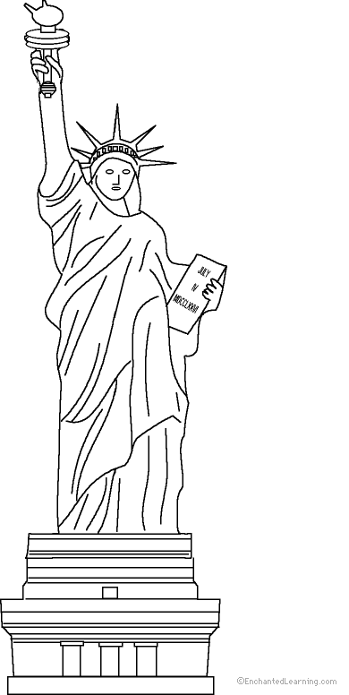 statue of liberty coloring page statue of liberty coloring pages free printable pictures page of statue coloring liberty