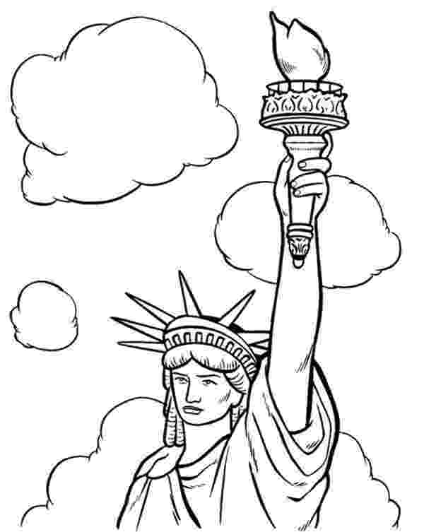 statue of liberty coloring page statue of liberty coloring pages getcoloringpagescom statue coloring of liberty page