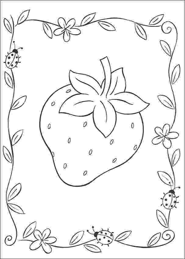 strawberry colouring page strawberry coloring pages best coloring pages for kids colouring page strawberry