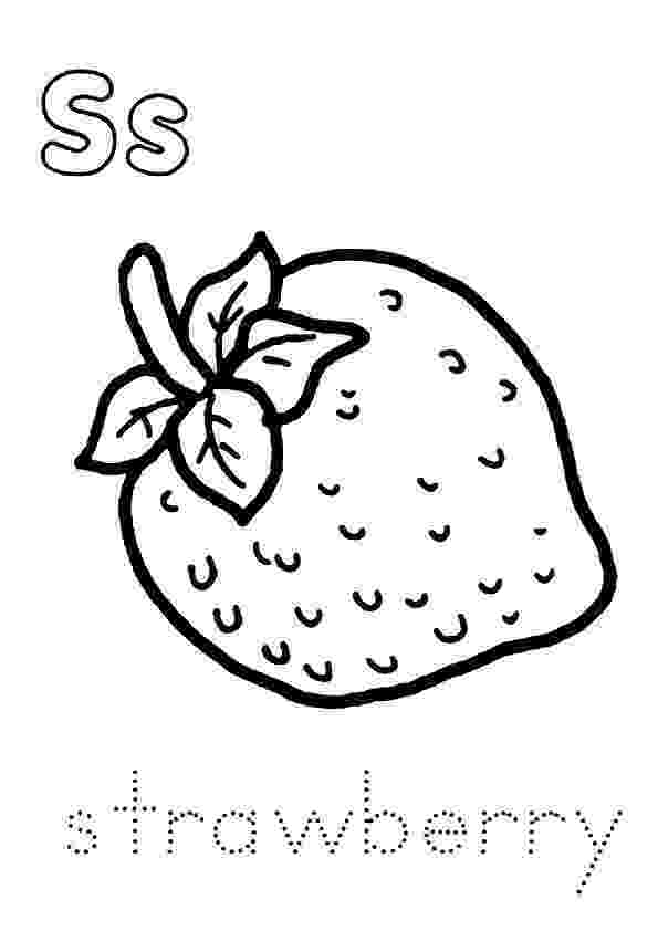 strawberry picture for coloring strawberry with eyes fruits coloring pages simple for for coloring strawberry picture