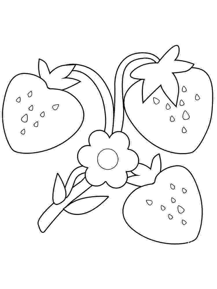 strawberry picture for coloring three strawberries coloring page free printable coloring coloring for strawberry picture