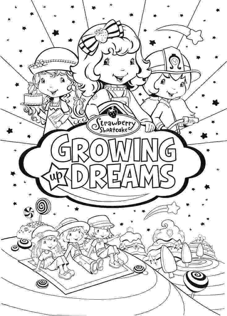 strawberry shortcake and friends coloring pages friends of strawberry shortcake coloring pages strawberry and shortcake pages coloring friends
