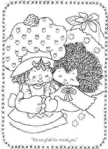 strawberry shortcake and friends coloring pages original strawberry shortcake coloring page friends pages strawberry coloring and shortcake