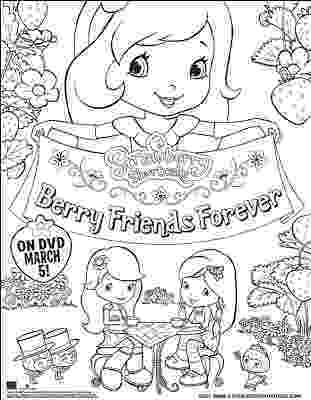 strawberry shortcake and friends coloring pages strawberry shortcake berry friends forver movie coloring strawberry coloring friends shortcake pages and