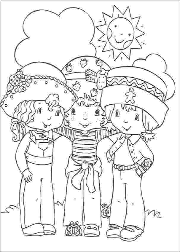 strawberry shortcake and friends coloring pages strawberry shortcake coloring pages getcoloringpagescom and friends strawberry coloring pages shortcake